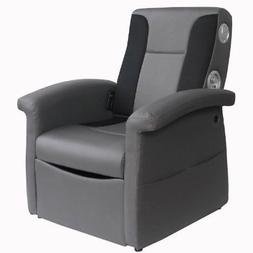 X Rocker 0717901 Triple Flip 2.1 Storage Ottoman Sound Chair