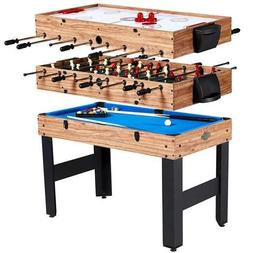 Triumph 13-in-1 Combo Game Table Includes Basketball, Table