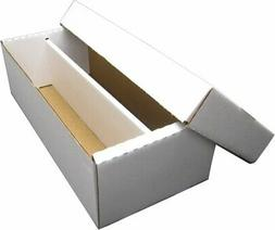 1600 Count Size Shoe Box 2-Row ASSEMBLED Sports Gaming Tradi