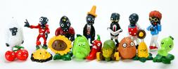 16x Plants Vs Zombies Series Game Different Role Figure Toy