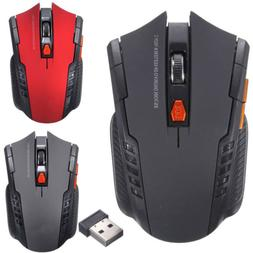 2.4Ghz Mini Wireless Optical Gaming Mouse Mice& USB Receiver