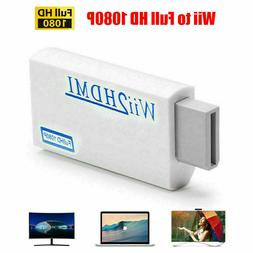 Portable For Wii to HDMI Wii2HDMI Full HD Converter Audio Ou