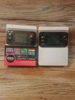 2-My Arcade Gamer V Retro Classic Portable Gaming System wit
