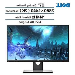 "Dell Flagship High Performance 27"" Gaming Monitor with WQHD"