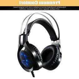 2018 New Gaming Headsets Stereo 7.1 Surround USB Headphones
