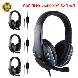 3.5mm Gaming Headset Stereo Surround Headphone With Mic For