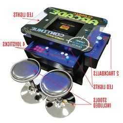 3 SIDED CLASSIC ARCADE GAME TABLE 1162 GAMES TRACKBALL FREE