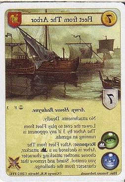 3 x Fleet from The Arbor AGoT LCG 1.0 Game of Thrones Reach