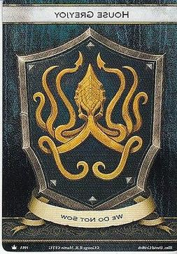 3 x House Greyjoy Faction Card Banner of the Kraken AGoT LCG