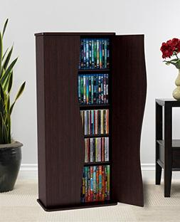Atlantic Venus Media Storage Cabinet - Stylish Multimedia St