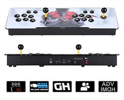 Happybuy 999 Classic Video Game Console Double Stick 2 Playe