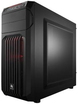 CORSAIR CARBIDE SPEC-01 Mid-Tower Gaming Case, Red LED Fan