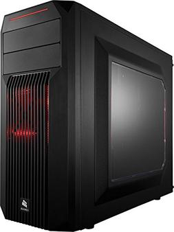 CORSAIR CARBIDE SPEC-02 Mid-Tower Gaming Case, Red LED Fan