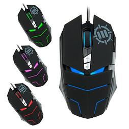 ENHANCE GX-M3 Gaming Mouse - 2800 DPI , Adjustable Weight ,