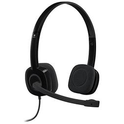 Logitech 3.5 mm Analog Stereo Headset H151 with Boom Microph
