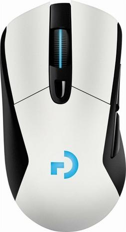 Logitech - G703 Wireless Gaming Mouse - White
