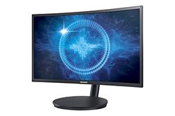 "Samsung - Cfg70 Series 24"" Led Curved Hd Freesync Monitor -"