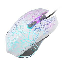 VersionTECH. RGB Gaming Mouse, Ergonomic USB Wired Optical M