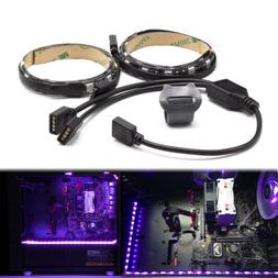 WOWLED PC RGB Gaming LED Strip Lights Mid Tower Case Lightin