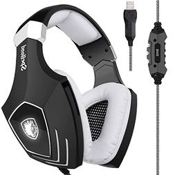 SADES A60/OMG Computer Over Ear Stereo Headsets Heaphones w