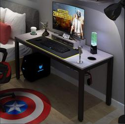 All-in-one Gaming Computer Desk Home Office with RGB LED Sof