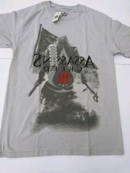 Assassins Creed III Game Men's Graphic T- Shirt Authentic Si
