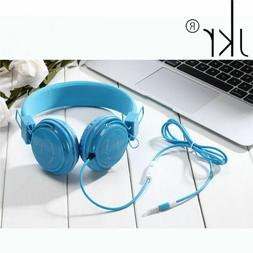 Audio Big Wired Gaming Earphone Mobile Phone Computer Music