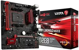 MSI B350M GAMING PRO Desktop Motherboard - AMD Chipset - Soc