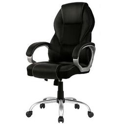 New High Back PU Leather Office Chair Ergonomic Executive Ta