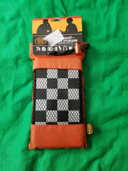 GSI Outdoors Backpack Magnetic Travel Chess Carrying Pouch N