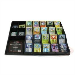 BCW Large Black Plastic Gaming Trading Card Sorting Tray org