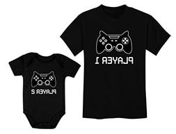 Big Brother Little Brother Shirts Player 1 Player 2 Gamer Ga