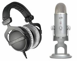 Blue Yeti Studio Gaming Twitch Live Stream Microphone+Beyerd