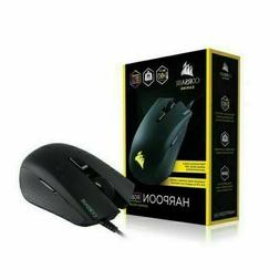 BRAND NEW CORSAIR - HARPOON Wired RGB USB Optical Gaming Mou