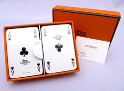 BRAND NEW Hermes Trump Game Card 2 Set Collection*RARE SEALE