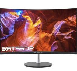 """Sceptre C248W-1920R 24"""" Curved 75Hz Gaming LED Monitor Full"""