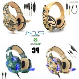camo gaming headset ps4 xbox one pc