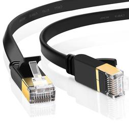 Cat 7 ethernet Cable Networking Patch STP Gold RJ45 Gaming M
