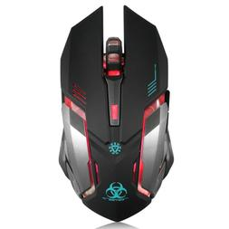 cool cheap gaming mouse with wireless cordless charging pc l