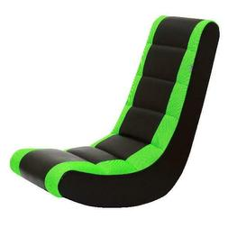 Crew Furniture 991590 Classic Video Rocker Black/Neon Green