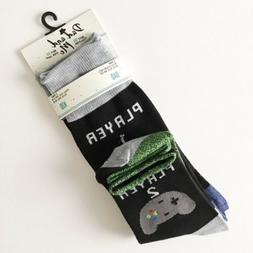 Daddy and Me Men's And Kids' Socks Set Video Game Player
