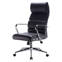 Deluxe Executive Office Chair in Black