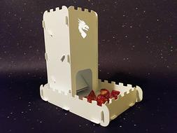 Dice Tower Dragon Roller With Tray   Board Games