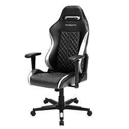 DXRacer OH/DF73/NW Black & White Drifting Series Gaming Chai