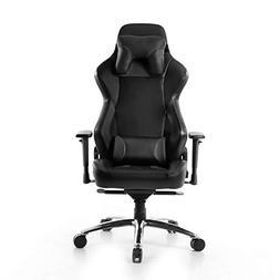 BTI Elite Series Ergonomic Reclining Gaming Chair with Steel