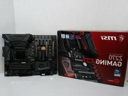 MSI Enthusiastic Z270 GAMING M3 Gaming Intel Z270 DDR4 VR Re