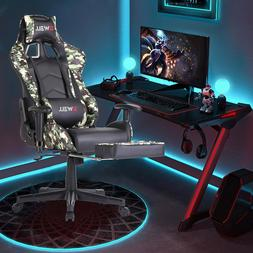 ⭐ERGONOMIC GAMING RACING CHAIR COMPUTER DESK SWIVEL OFFICE