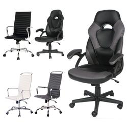 Ergonomic Gaming Racing Chair High Back Recliner Office Comp