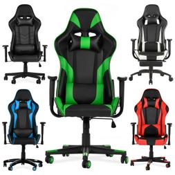 Ergonomic Office Gaming Chair Racing Recliner Bucket Seat Co