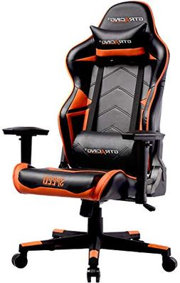 GTRACING Ergonomic Office Chair Racing Chair Backrest and Se